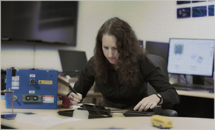 NTSB's Christy Spangler, Engineering Graphics Specialist